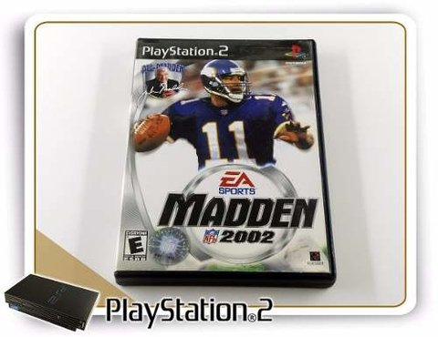 Madden Nfl 2002 Original Playstation 2 PS2