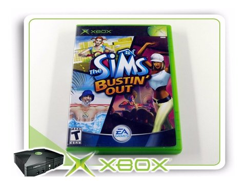 Xbox The Sims Bustin Out Original Xbox Clássico Ntsc
