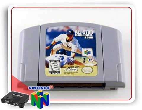 All-star Baseball 2000 Original Nintendo 64 N64