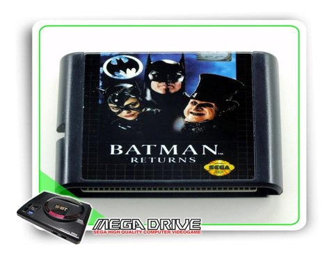Batman Returns Sega Mega Drive / Genesis - Novo