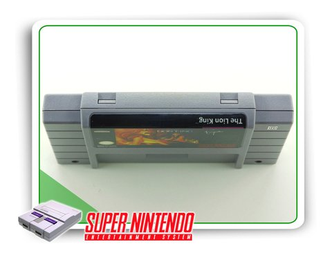 The Lion King Super Nintendo Snes Original - comprar online