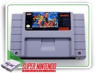 Art Of Fighting Original Snes Super Nintendo