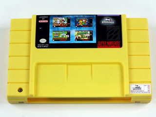 Cartucho 4 Em 1 Adventure & Action Super Nintendo Snes 001