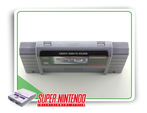 Winter Olympic Games Original Super Nintendo Snes na internet
