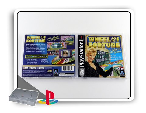 Wheel Of Fortune Original Ps1 Playstation 1 na internet