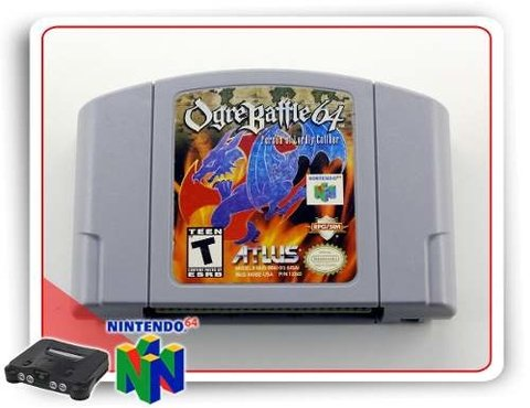Ogre Battle 64 Nintendo 64 N64 Original