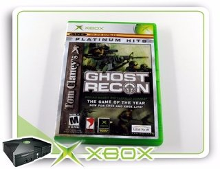 Tom Clancys Ghost Recon Xbox Clássico Original Ntsc