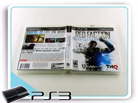 Red Faction Armageddon Original Playstation 3 PS3 na internet