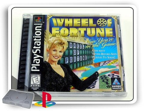 Wheel Of Fortune Original Playstation 1 Ps1