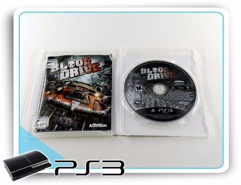 Ps3 Blood Drive Original Playstation 3 na internet