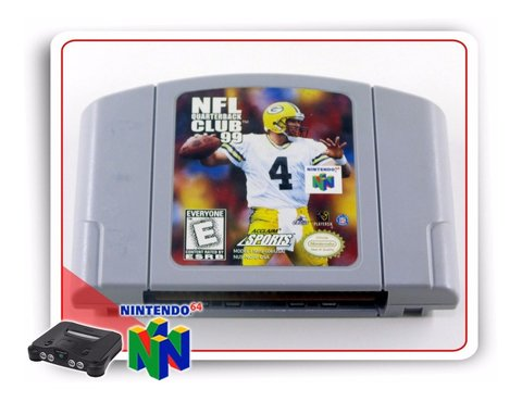 Nfl Quarterback Club 99 Nintendo 64 Original N64