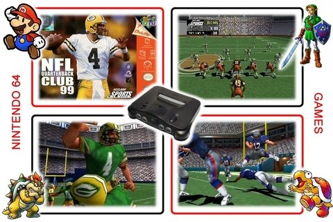 Nfl Quarterback Club 99 Original Nintendo 64 N64 na internet