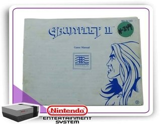 Manual Gauntlet 2 Original Nintendinho Nes 8-bits