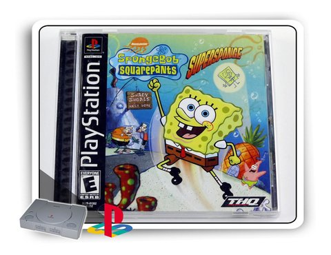 Spongebob Squarepants Supersponge Original Ps1 Playstation 1
