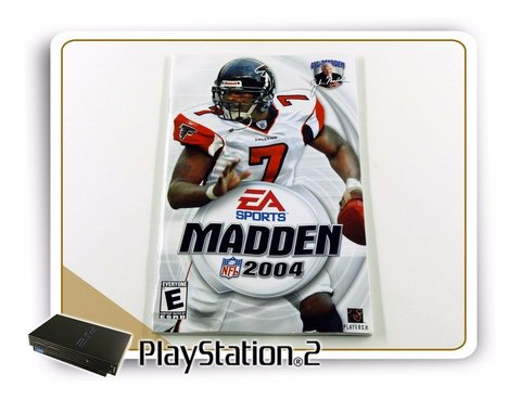 Manual Madden Nfl 2004 Original Playstation 2 PS2