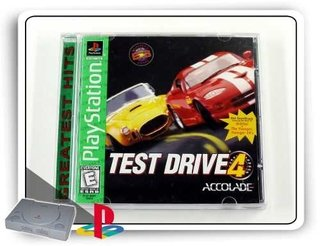 Test Drive 4 Original Playstation 1 Psone Ps1