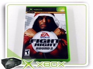 Fight Night Round 2 Original Xbox Clássico