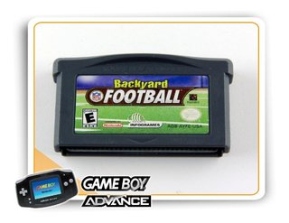 Nfl Backyard Football Original Game Boy Advance Gba