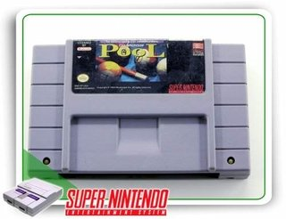 Championship Pool Super Nintendo Original Snes