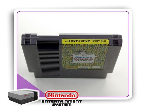 The Great Waldo Search Original Nintendinho Nes 8-bits na internet