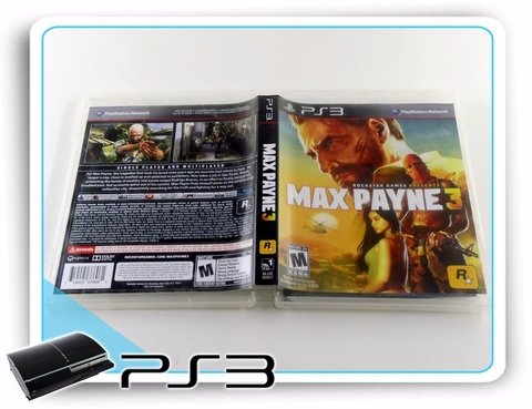 Max Payne 3 Playstation 3 Original Ps3 - comprar online