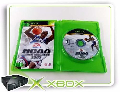 Ncaa March Madness 2005 Original XBOX Clássico na internet