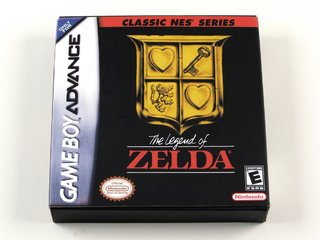 Classic Nes Series Legend Of Zelda Original Game Boy Advance