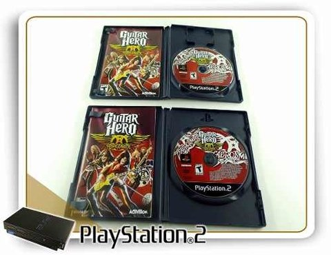 Guitar Hero Aerosmith Original Playstation 2 PS2 na internet