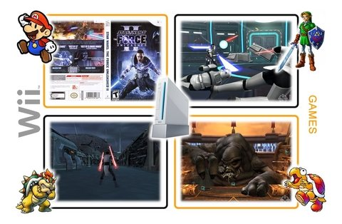Star Wars The Force Unleashed 2 Original Nintendo Wii - loja online