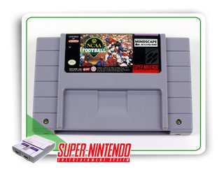 Ncaa Football Original Super Nintendo Snes