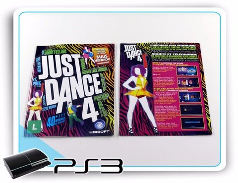 Just Dance 4 Original Playstation 3 PS3 - Radugui Store