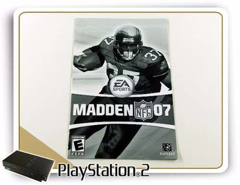 Manual Madden Nfl 07 Original Playstation 2 PS2