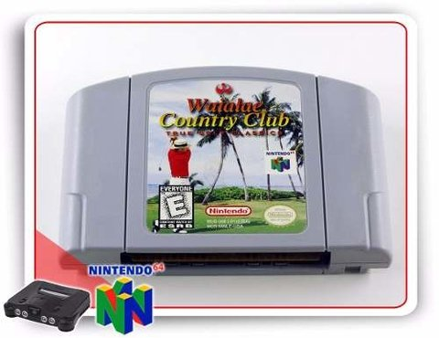 Waialae Country Club Nintendo 64 Original N64