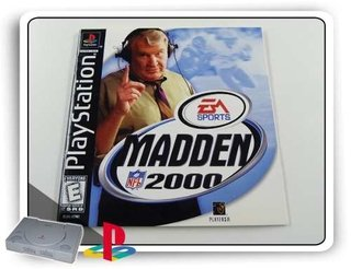 Manual Madden Nfl 2000 Original  Ps1 Playstation 1