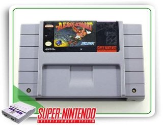 Aero The Acrobat Original Super Nintendo Snes