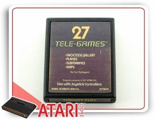 27 Tele-games Cartucho Original Atari