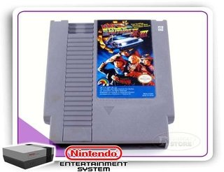Back To The Future Part 2 & 3 Original Nintendinho Nes