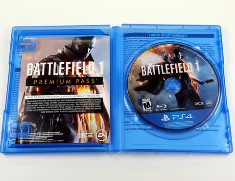 Battlefield 1 Original Playstation 4 Ps4 - Mídia Física - comprar online