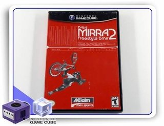 Dave Mirra Freestyle Bmx 2 Original Nintendo Gamecube