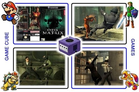 Enter The Matrix Original Nintendo Gamecube - Radugui Store
