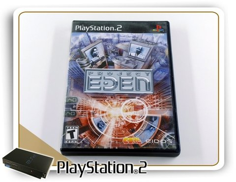 Project Eden Original Playstation 2 Ps2