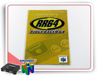 Manual Ridge Racer 64 Original Nintendo 64 N64