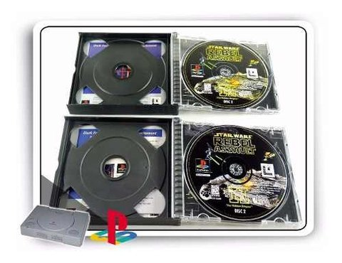 Star Wars Rebel Assault 2 Original Playstation 1 PS1 - Radugui Store