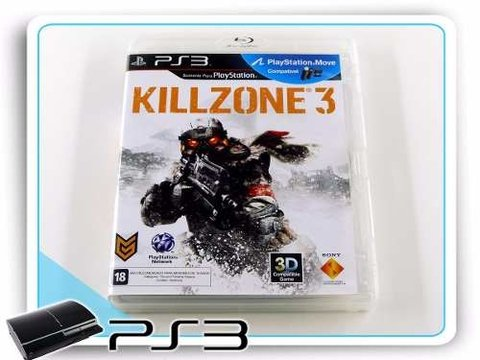 Killzone 3 Original Playstation 3 PS3