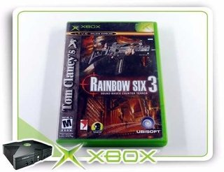 Tom Clancys Rainbow Six 3 Original XBOX Clássico