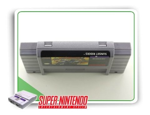 Sunset Riders Original Snes Super Nintendo - comprar online