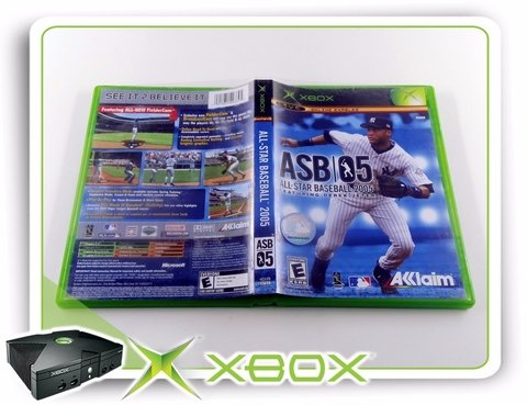 All-star Baseball 2005 Original Xbox Clássico Ntsc - comprar online