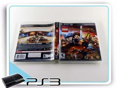 Lego The Lord Of The Rings Original Playstation 3 PS3 na internet
