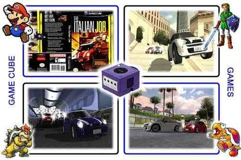 The Italian Job Original Gamecube - Radugui Store
