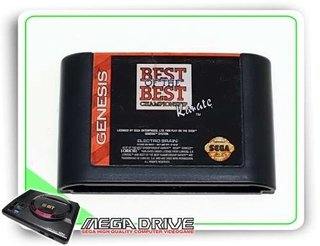 Best Of The Best Championship Karate Original Mega Drive